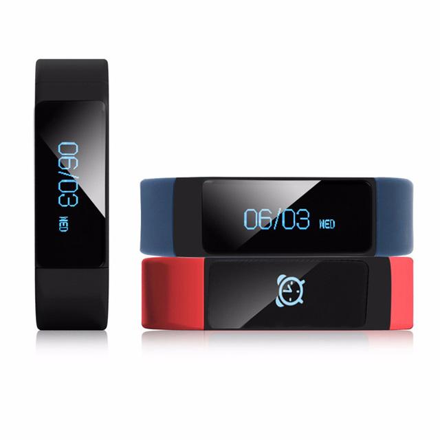 Original iwown i5 más smart watch smart bluetooth banda 4.0 ip67 a prueba de agua monitor de sueño inteligente pulsera iwown i5plus smartband