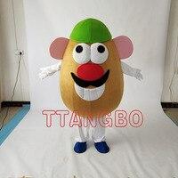 Hot sale Mr. Potato Head Mascot Costume Adult Character Halloween Christmas Cosplay mascot costume