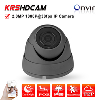 Full HD Ambarella Ip Camera POE 1080P ONVIF Vandalproof Indoor P2P CCTV Ip Security Camera 3