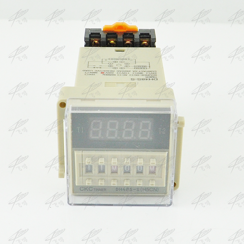 12V 24V 110V 220V Multifunction Digital Timer Relay On Delay 8 Pins SPDT DH48S-S Repeat Cycle 0.1S-99H ce dh48s s digital timer time delay relay 220v dc 0 1s 99h 8 pins with base socket