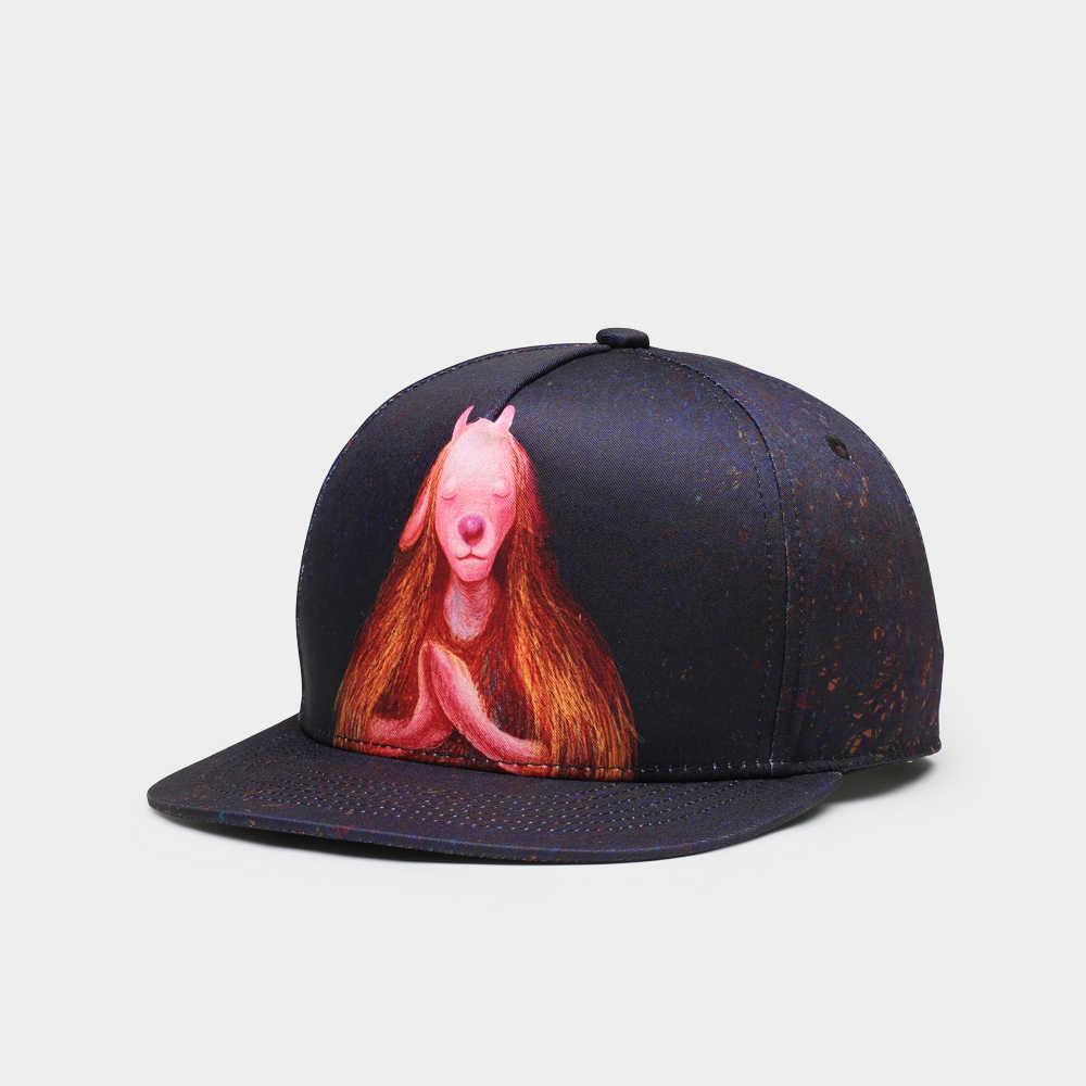 NUZADA 14 متعددة اللون قبعة القطن الرجال النساء زوجين الهيب هوب قبعة Snapback قبعة الربيع الصيف الخريف طباعة كاب