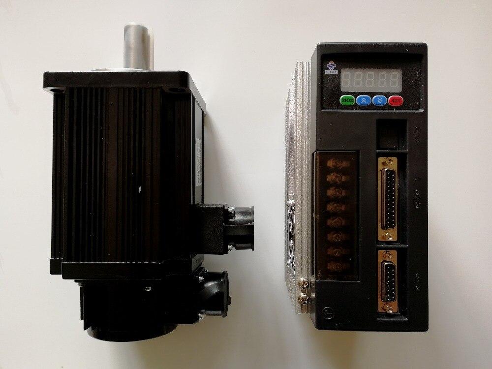Meilleur prix grande qualité Servo moteur ensemble: 6 NM 1.8KW 3000 RPM AC 110ST-M06030 avec Assortie Servomoteur et le câblage libre