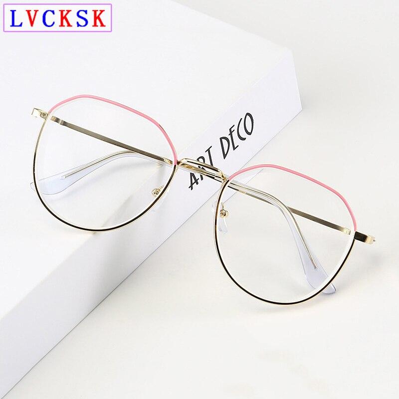 Fertig Myopie Gläser Frauen Blau Licht Blockieren Gläser Patchwork Farbe Rahmen Kurzgeschlossen Kurzsichtig Brillen-1-2-3 -3,5-4,5 L3