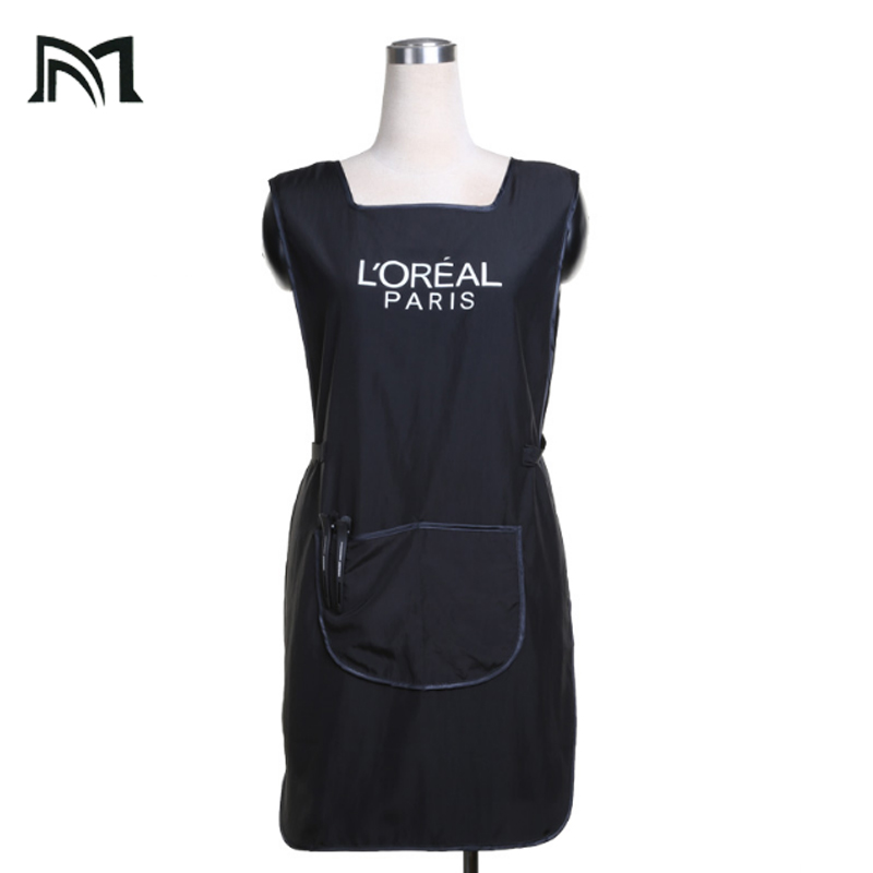 Hairdress Wrap Polyester Professional Hair Styling Sleeveless Protect Vest Hairpin Work Apron 85*47CM for Adult Cape B8