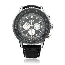 Jaragar механическая большой набор нескольких номер точная наручные часы 2016 новый