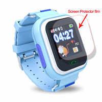 Glas Screen Protector für Q90 Q100 Q750 SMartwatch HD Explosion-proof Volle Bildschirm Filme Schützen filme Kinder Smart Uhr