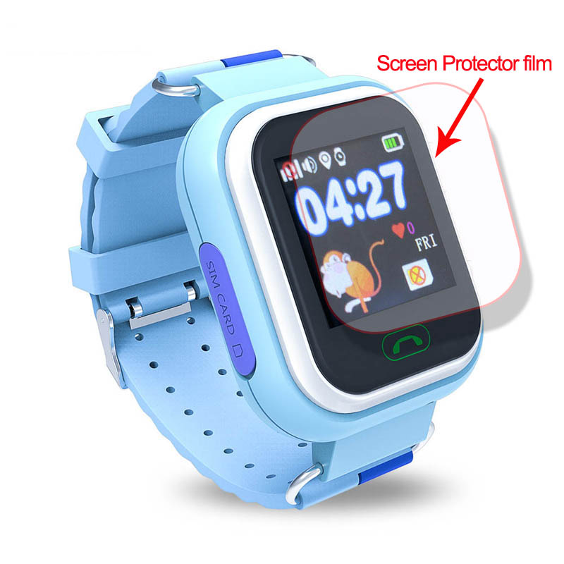Glass Screen Protector For Q90 Q100 Q750 SMartwatch HD Explosion-proof Full Screen Films Protect Films Kids Smart Watch
