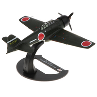 1/72 Metel Army WWII Japan A6M3 Zero 1942 Plane Aircraft Diecast Vehicle Model Toy Kids Pretend Play Toy Gift Collection Display