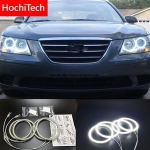 Image 1 - HochiTech Hyundai Sonata NF Transform Ultra parlak SMD beyaz LED melek gözler 2600LM ışık halkası kiti gündüz çalışan işık DRL