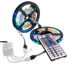 Flexible 3528 LED Rgb los 10 m 600 led SMD Banda de Luz Con 44 teclas de Control Remoto RS36
