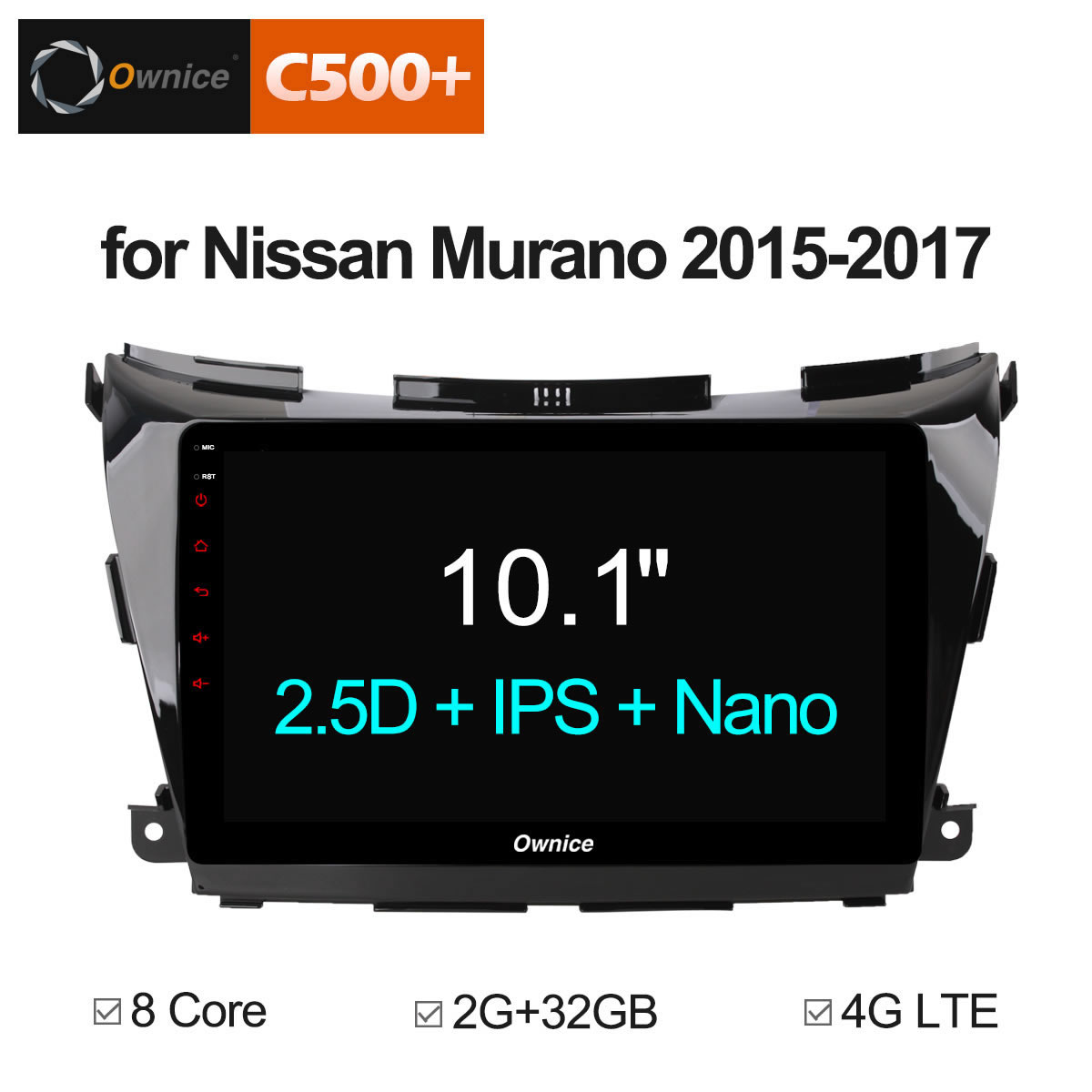 Ownice C500+ G10 Eight Core Android 8.1 2GB RAM car dvd for Nissan NAVARA MURANO NP300 stereo radio gps 1080P 4G LTE DAB+ DVR special dvr without battery for ownice c500 car dvd and the dvd manufacture date must after 10th of april 2017 included 10th