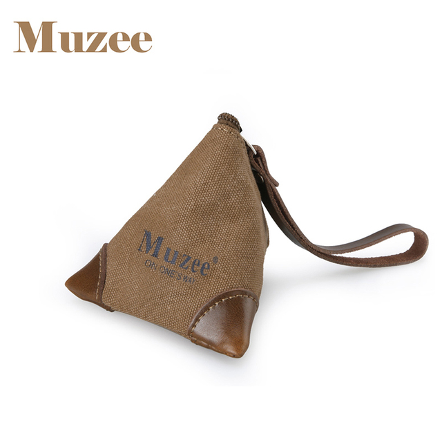 Muzee Canvas Coin Bag Suit For Keys And Cute Agers Male Female Gift