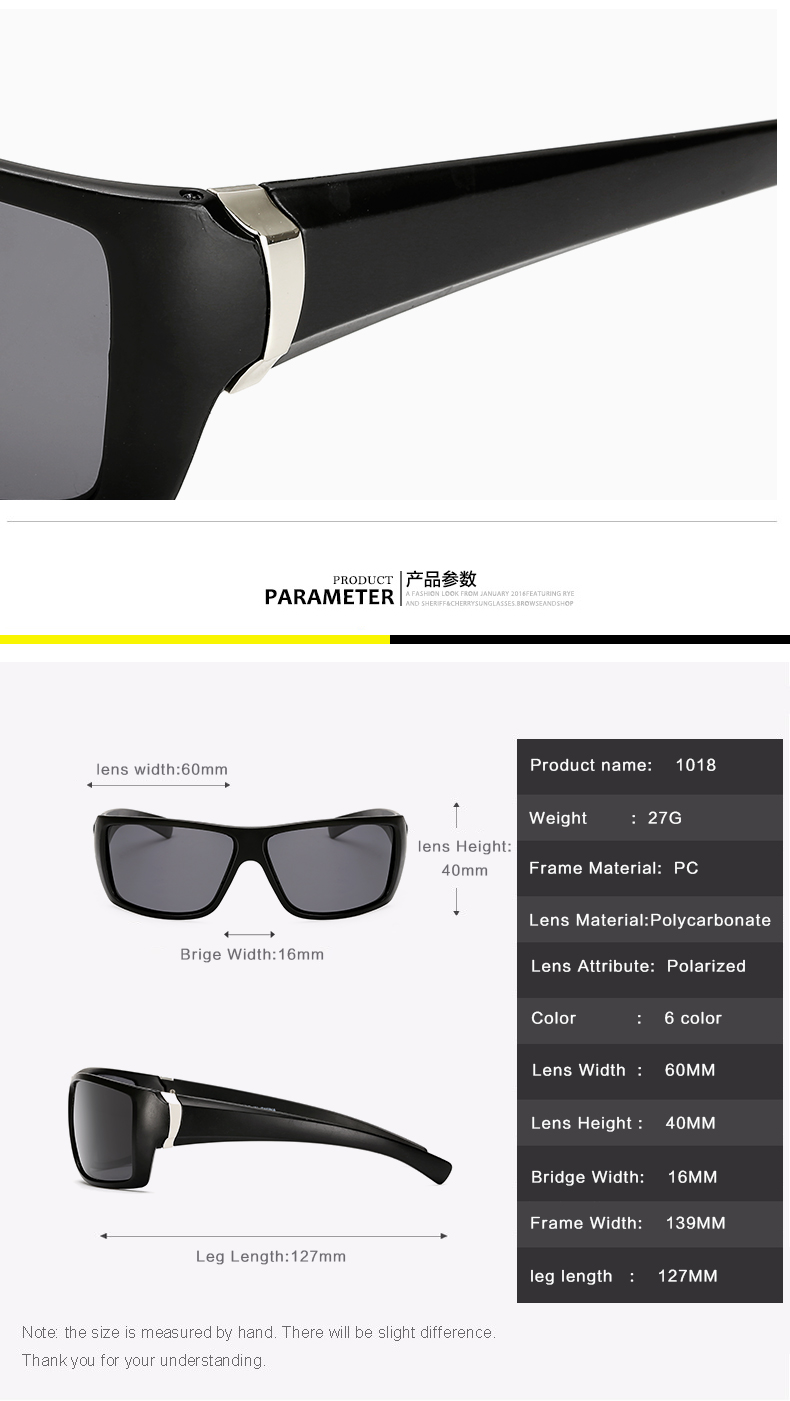 2019 New Polarized Sun Glasses Top Quality Men Sunglasses Driving Fashion Travel Eyewear Brand UV400 Gafas De Sol Mujer in Men 39 s Sunglasses from Apparel Accessories