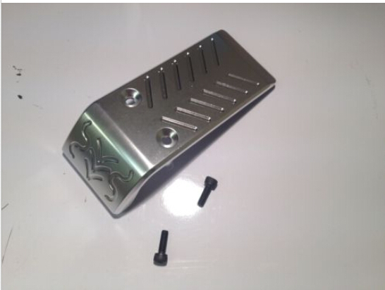 baja 5b machined aluminium bumper tray bar-in Parts & Accessories from Toys & Hobbies    1