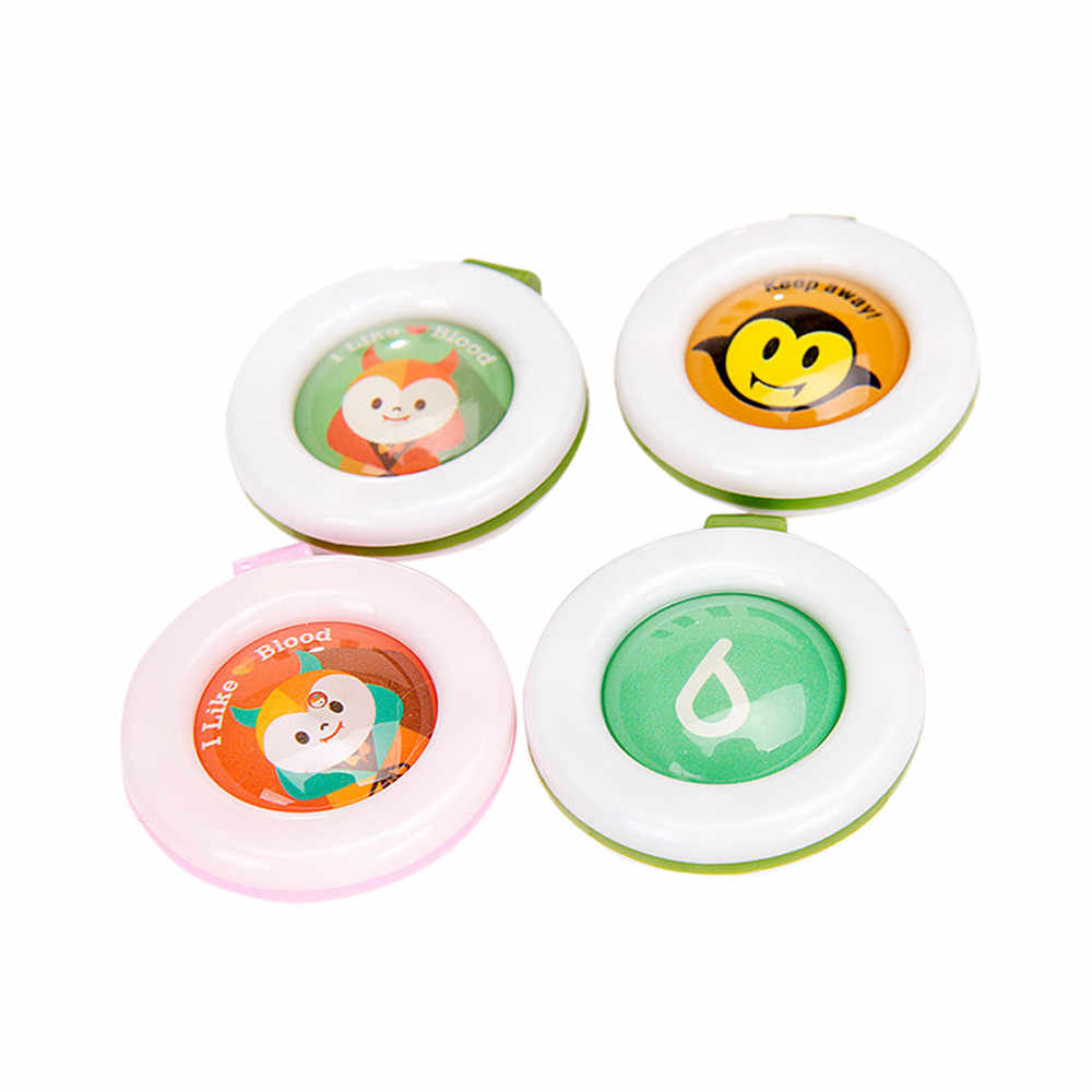 Mosquito Repellent Button Baby Kids Buckle Outdoor Anti-mosquito Repellent Cushion PortableSuper waterproof performance Children