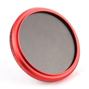 Image 4 - FOTGA ультра тонкий 40,5 82 мм фейдер Регулируемый ND фильтр объектива ND2 ND8 ND400 красный