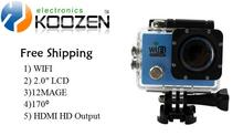 Waterproof Sport Action  Camera 2.0 Inch Full HD 1080P Sport DV Camcorder WIFI