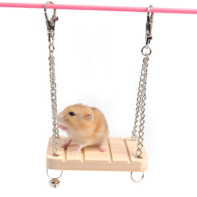 1PCS Pet Toy Dog Cat Wood Rat Rabbit Chinchilla/Cat Cage Hammock Small Pet Dog Puppy Bed Cat Toys