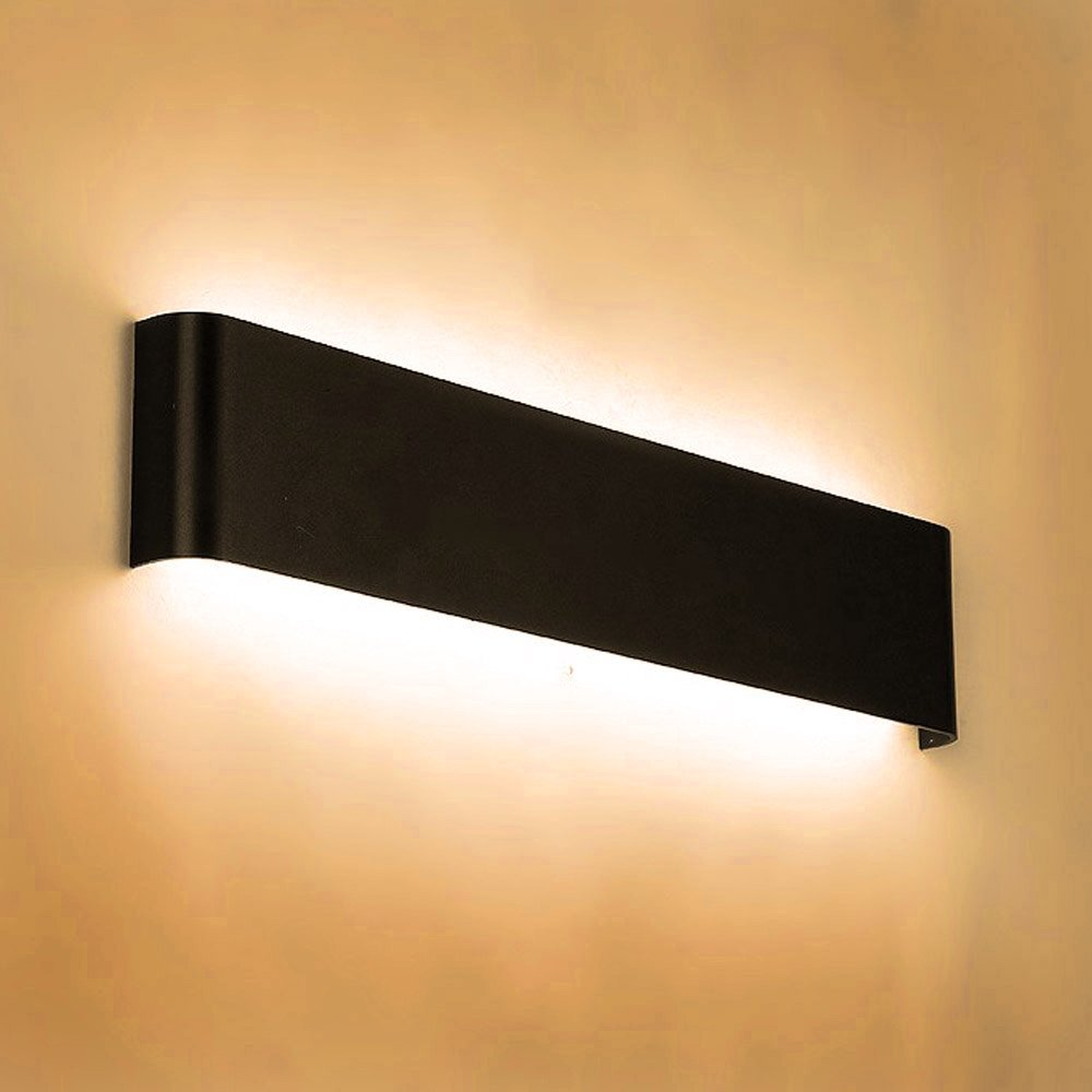 цена Modern 6W 12W 18W 24W led wall light AC85-265V high quality restroom bedroom reading wall lamp decoration aluminum light