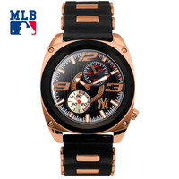 MLB NY Fashion Luxury Wrist Watches Waterproof Luminous Hands Stainless Steel Men Watch Quartz Casual Sport Wrist Watch D5014