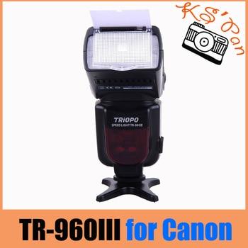 Triopo TR-960 III Built-in 2.4G Wireless Flash Speedlite master / slave mode TR-960III For Canon