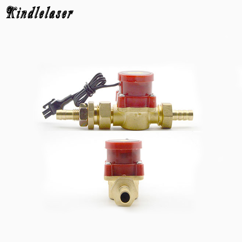 Capteur de Débit d'eau Commutateur Compteur G1/2 Régulateur De Pression Automatique Pompe de Circulation Fil Connecteur pour CO2 Laser Tube