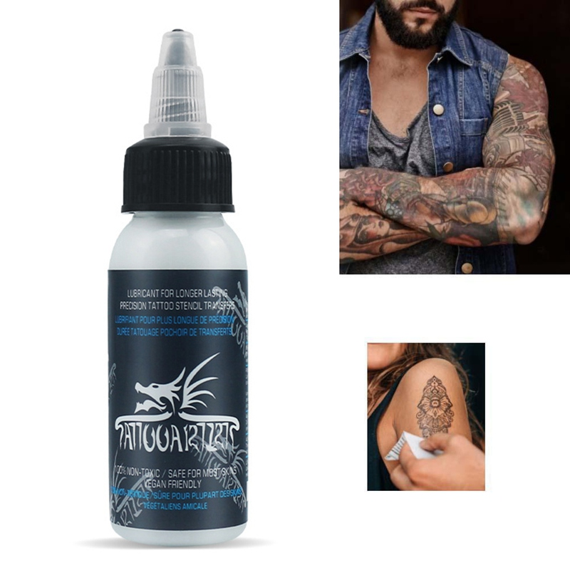 30nl Professional Tattoo Transfer Gel Body Paint Tattoo Transfer Oils For Transfer Auxiliary Essential Products