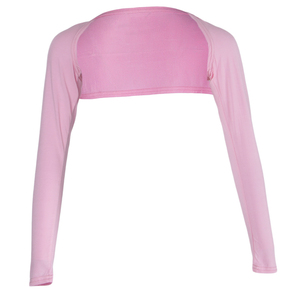 Image 5 - Fashion Women's Soft One Piece Long Sleeved Elastic Modal Arm Warm Cover Shrug   Hijab Tops Muslim Clothes