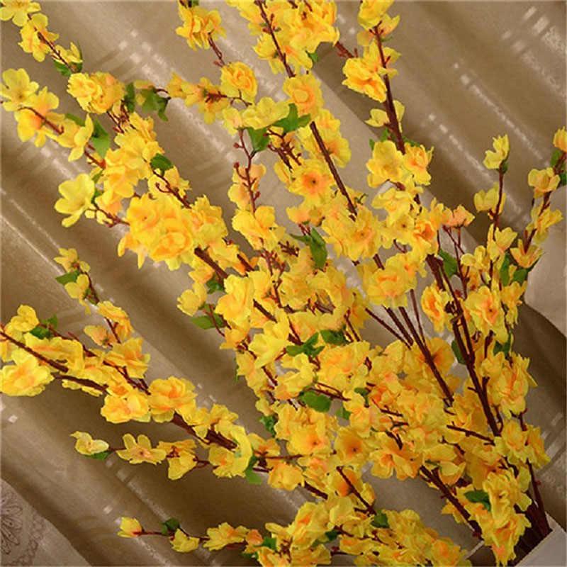 1 stks 65 cm Kunstbloemen Perzikbloesem Simulatie Bloem Voor Bruiloft Decoratie Interieur P20