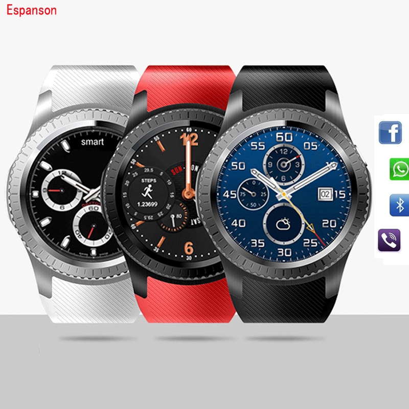 Espanson W11 3G Smart Watch Android Sport Fitness Watch With SIM Card Slot Bluetooth Heart Rate Wifi GPS Camera Clock Smartwatch fashion s1 smart watch phone fitness sports heart rate monitor support android 5 1 sim card wifi bluetooth gps camera smartwatch