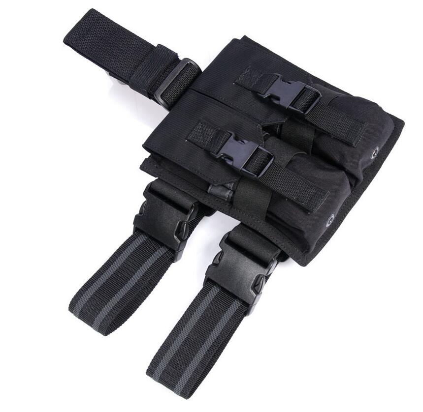 FLYYE MOLLE Drop Leg M4/M16 Mag Pouch CORDURA Multicam AOR AU Wargame Airsoft Hunting Tactical Camp PK-E007