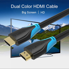 Vention HDMI Cable Male to Male High speed Gold Plated Plug 1.4 1080P 3D For PC HDTV XBOX PS3 Projector LCD computer 1M 2M 3M 5M