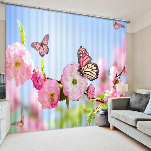 Aliexpress.com : Buy Flowers Butterfly Luxury Chinese Modern 3D ...