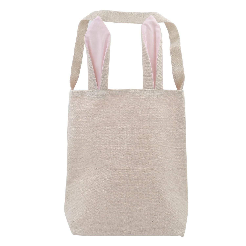 Gepäck & Taschen StoßFest Und Antimagnetisch Symbol Der Marke Ljl Ostern Rosa Bunny Ohren Leinwand Tragen Tasche Party Kaninchen Spaß Zubehör Wasserdicht