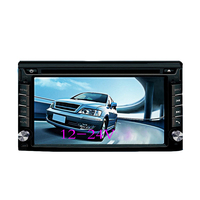 6.2 Inch HD Touch Screen Dual Spindle Bluetooth Car Navigation DVD Player One Machine Card Radio Reversing Priority Hands free