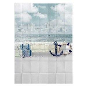 Image 3 - Allenjoy photographic background Jinhae sea boat sky waves backdrops princess kids vinyl photocall 8x12ft
