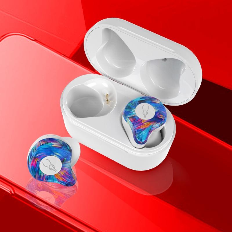 TWS V5.0 Auricolare Bluetooth Vero Wireless 3D Cuffie di Sport Impermeabile Stereo Auricolari Con Microfono Auricolare per il TELEFONO XIAOMI