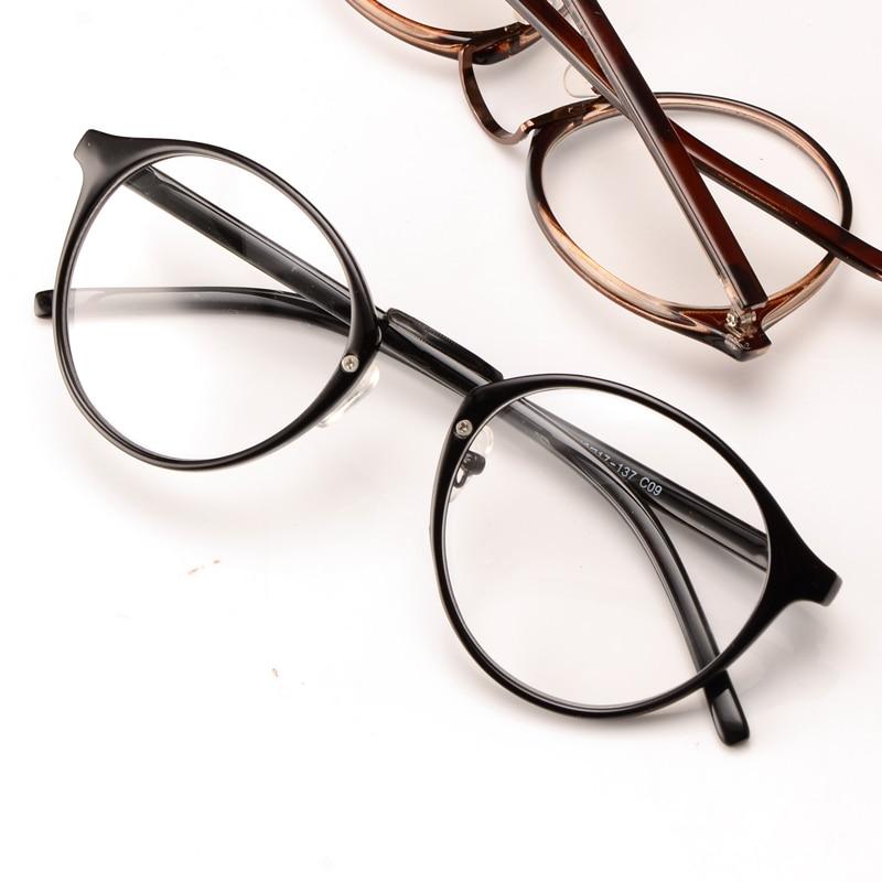 43fb4482a2 Fashion Lovely Unisex Clear Lens Nerd Geek Glasses Men Women eyeglasses  Wholesale vintage round glasses frame oculos fashion-in Eyewear Frames from  Apparel ...
