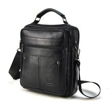 Men Messenger Bags Fashion Mens Genuine Leather Shoulder Bag Design Brand New High Quality Business Work Handbag Purse