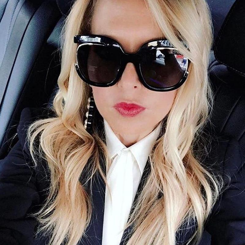Cat Luxury Brand Design Retro Sunglasses Women High Quality Half Frame Fashion Eye Sun Glasses for Women 2019 Oversized Style in Women 39 s Sunglasses from Apparel Accessories