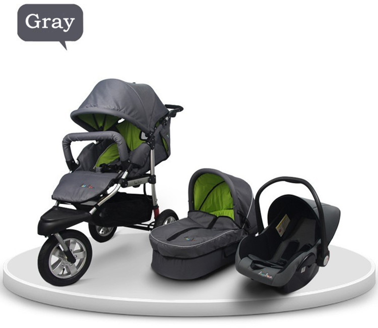 Fast Delivery Luxury Baby Wagon 3 In 1 Car Seat Pushchair With