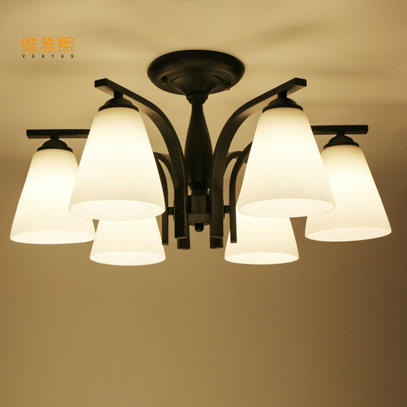glass lampshade Retro Bulb Light Chandelier Vintage Loft Antique glass Art Ceiling Lamp Fixture Light vintage pendant light exotic colored glass lampshade modern industrial bar christmas tree bedroom antique fixture retro loft page 10