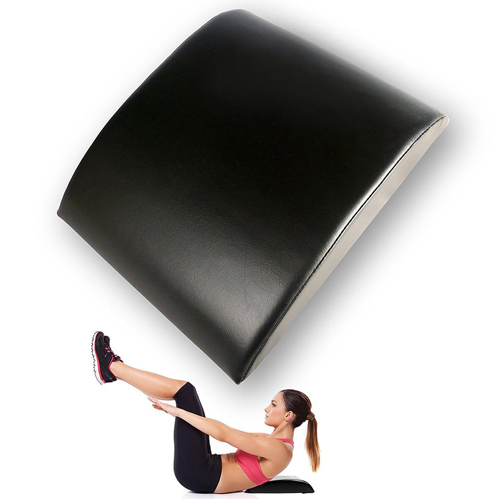 Ab Exercise Sit Ups Benches Pad Abdominal Trainer Mat Comfortable PU Lower Back Support Workout Fitness Equipment