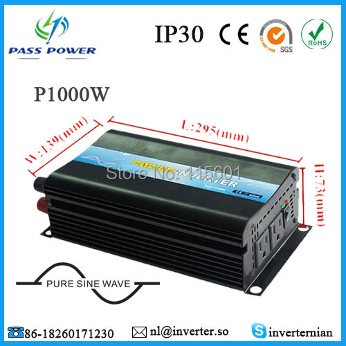 CE&RoHS Approved,dc12v 24v 48v to ac 220v/240v Pure Sine Wave 1000w/1kw Solar Inverter/Invertor , Free ShippingCE&RoHS Approved,dc12v 24v 48v to ac 220v/240v Pure Sine Wave 1000w/1kw Solar Inverter/Invertor , Free Shipping