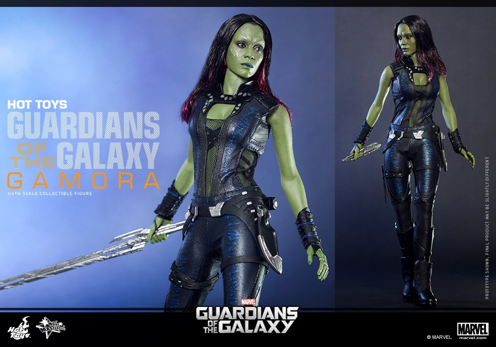 """ФОТО hottoys1/6th scale zoe saldana gamora guardians of the galaxy 12"""" action figure doll model toy collectible figure"""