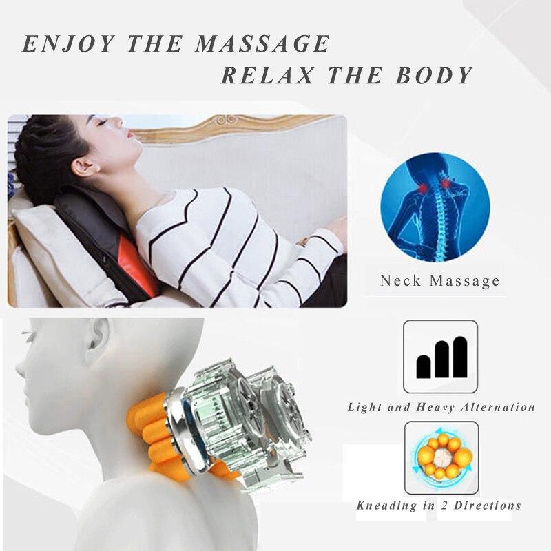 Massage com Luz de Calor Vamsluna Shiatsu Roller Vamsluna Shiatsu