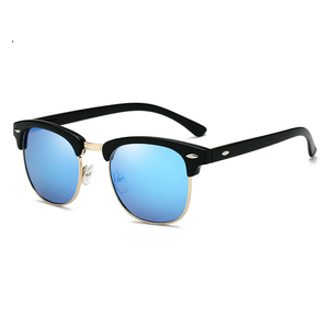 Polarized Sunglasses Men Women RB3016 Brand Design Eye Sun Glasses Women Semi Rimless Classic Men Sunglasses Oculos De Sol UV400