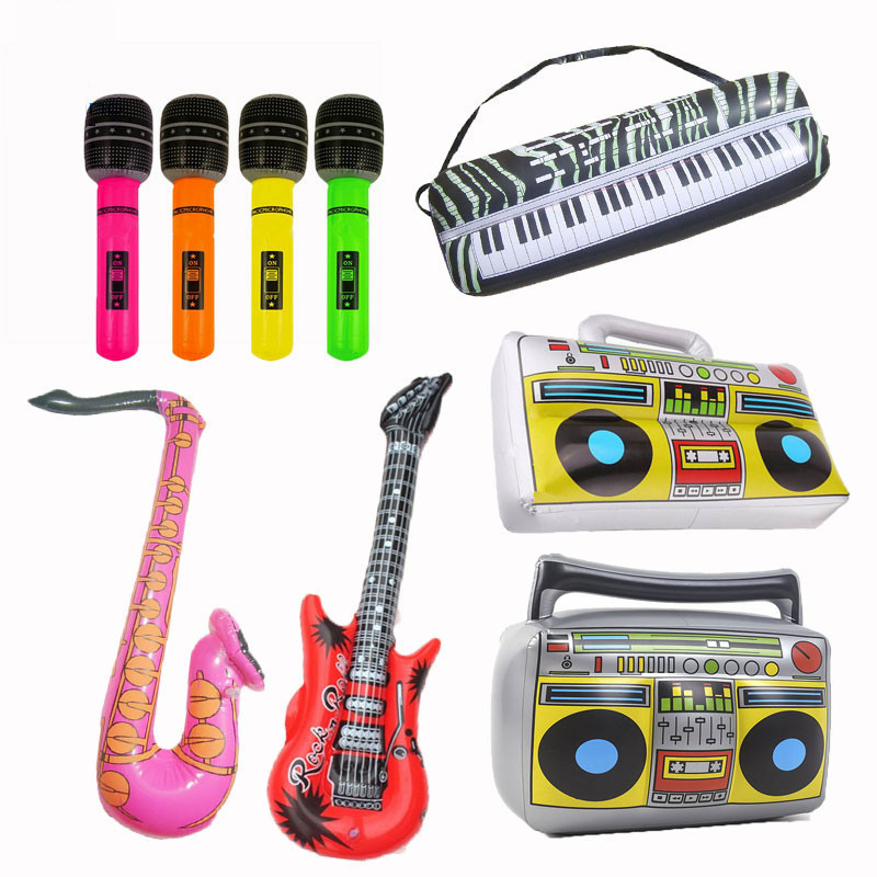 PVC Fancy Inflatable Instrument Toys For Children Carnival Party 2019 Summer Outdoor Water Game Play Accessories For Kids
