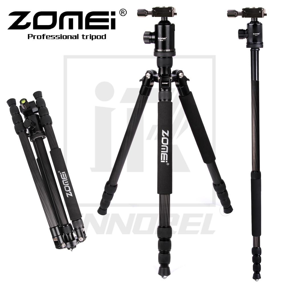 Varor Z888C Kamerahållare Professionell Resor Kolfiberkamera stativ - Kamera och foto