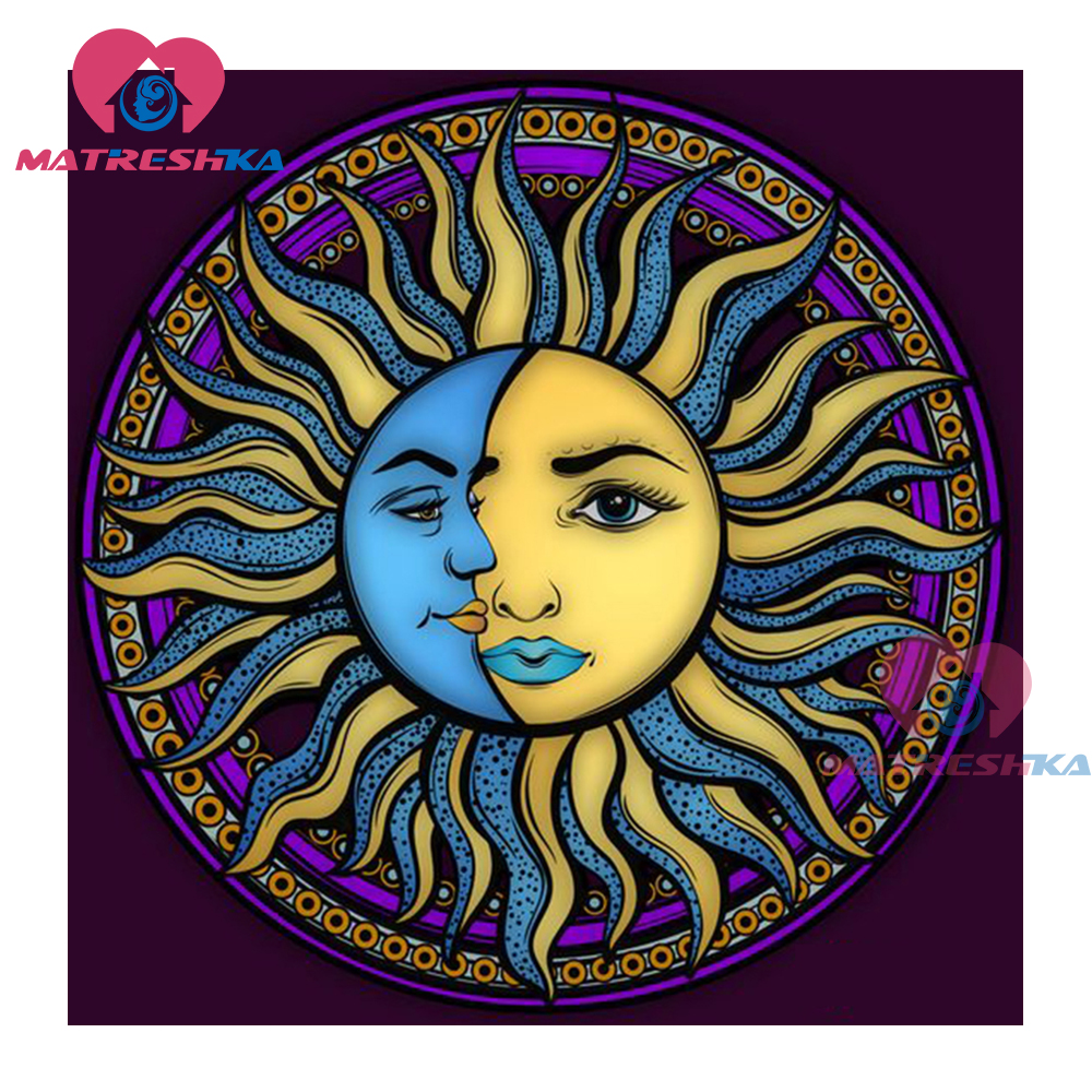 moon and sun - 736×736